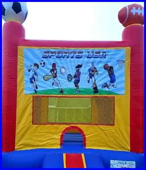 SportsUSA Bounce House Rental