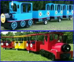 Rising Party Train rentals for parties and events